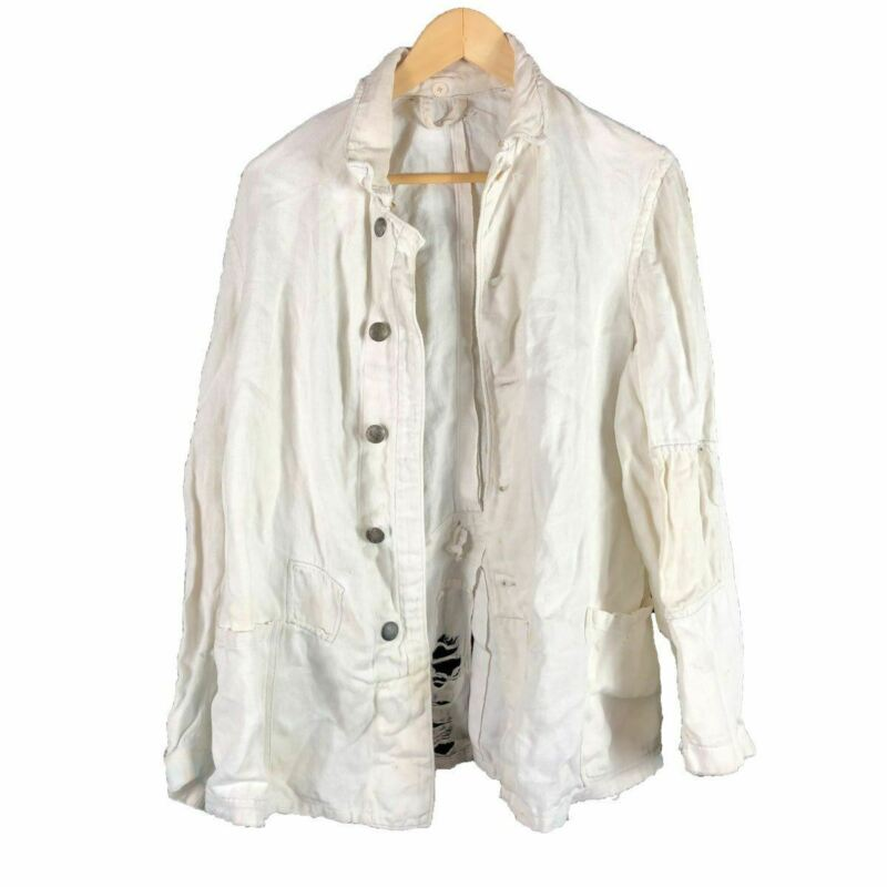 Patched 1940s German HBT Work Jacket