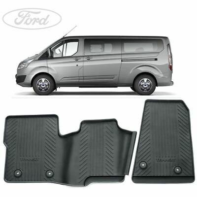 Car Parts - Genuine Transit MK8 & Custom Front Rubber Floor Mats Set 12-Onwards 2047030