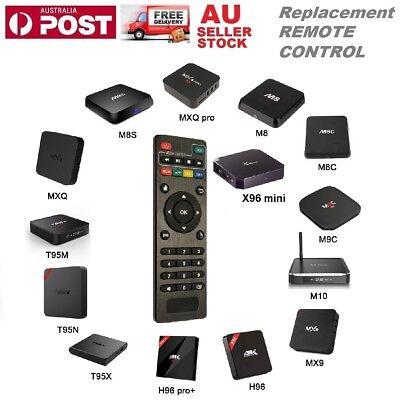 Replacement Remote Control for Android Smart TV Box MXQ Pro X96 Mini TX95 Kodi
