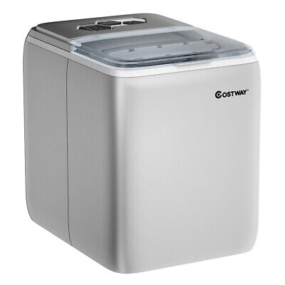 Portable Countertop Ice Maker Machine Self-Clean Cooler w/Sc