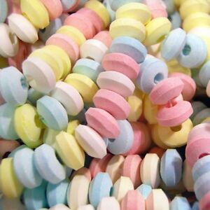 Candy Necklace - Wrapped - Pastel - 6 Necklaces - Party Favors