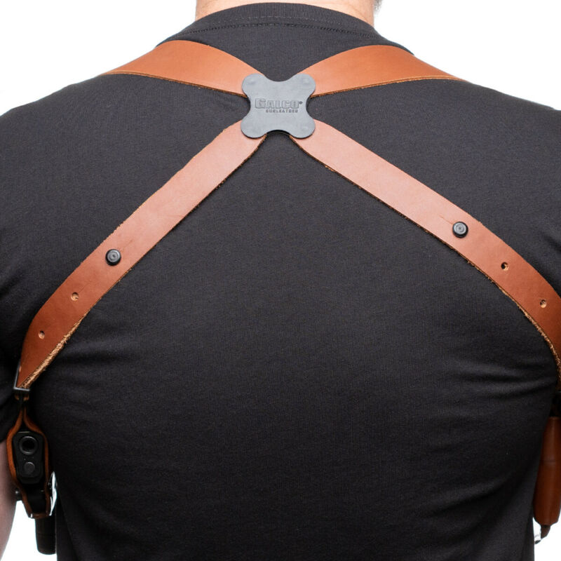 """Galco 1.5"""" Wide Harness For System Tan finish Ambidextrous - MCIIH"""