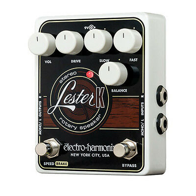 Electro Harmonix Lester K Rotary Speaker - Guitar Effect Pedal