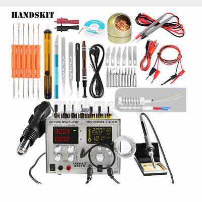 4 In 1 Hot Air Rework Soldering Iron Dc Switching Power Supply Station 110v 800w