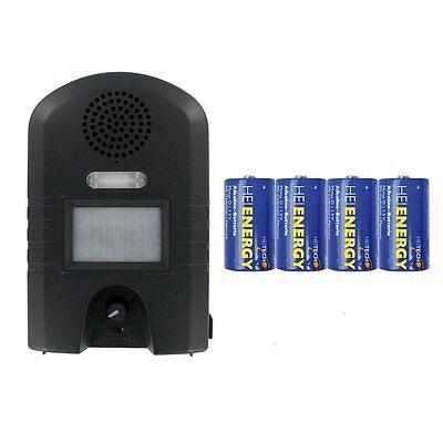 Weitech - Garden Protector 2 - inklusive 4 Heitech Mono/D Batterien - Vertreiber