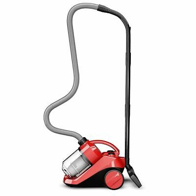 Durable Bagless Cord Rewind Canister Vacuum Cleaner w/ ashable Filter