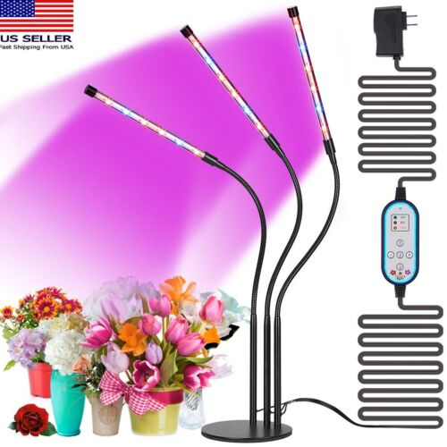 New 36W LED Grow Light Plant Growing Lamp Lights for Indoor Plants Hydroponics US Unbranded deosnt apply for 19.49.