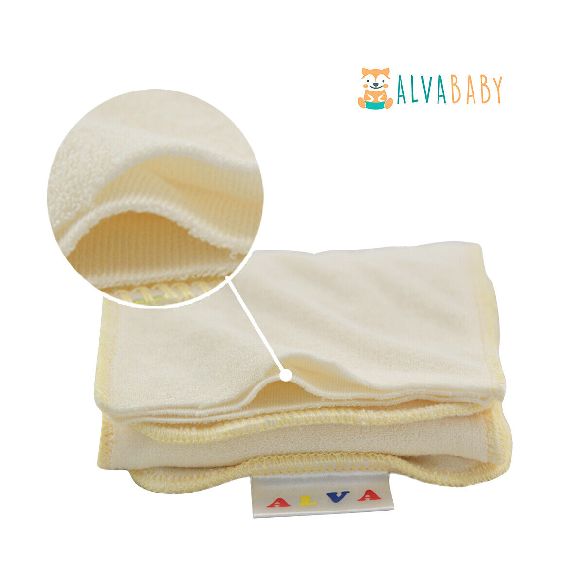 ALVABABY Cloth Diapers One Size Reusable Washable Pocket Nappy + Insert U Pick With 1 3layers Bamboo Insert