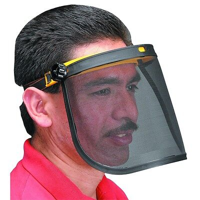 Mesh Face Shield Breathable Eye Protection Safety Head Mask Elastic Landscaping