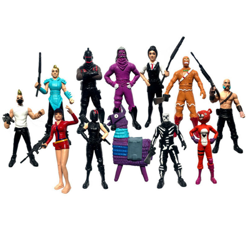 12Pc/Set Fortnite Character Toy Game Action Figure Playset Model Gift Collection