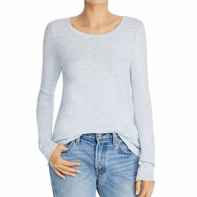 ATM ANTHONY THOMAS MELILLO Women's Cotton Destroyed Tee Casual Shirt Top L TEDO