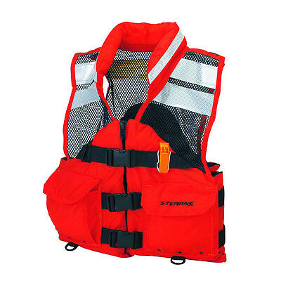 Sterans I426org-05-000f Life Jacket Search And Rescue Sar Flotation Vestxl