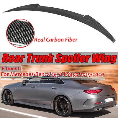 Echte Carbon Fiber Heckspoiler Heckflügel Lippe für Mercedes C257 CLS450 2019-20