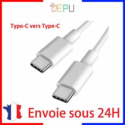 Câble Chargeur Rapid USB Type C Vers Type C 2m compatible macbook...