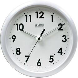 La Crosse Technology La Crosse Illuminations 10 inch White framed clock