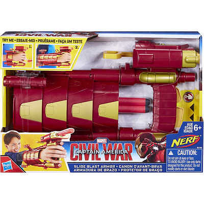Marvel Avengers Iron Man Rutsche Blast Armour Verkleiden / Alter 5+ (Iron Man Verkleiden)