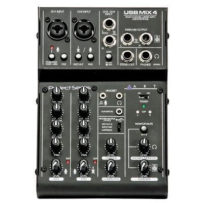 Dj-equipment 48 V Phantom Power Karaoke Audio Sound Ausrüstung Unterhaltungselektronik Begeistert Pro Verstärker Mixer 6 Kanal Mikrofon Mischen Konsole Mit Usb Bluetooth