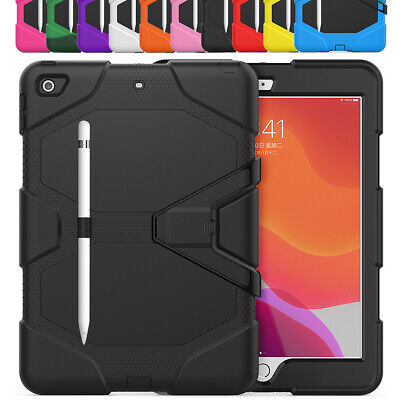 """360 Full Shockproof Protective Stand Case For iPad 10.2"""" 2019 7th Generation"""