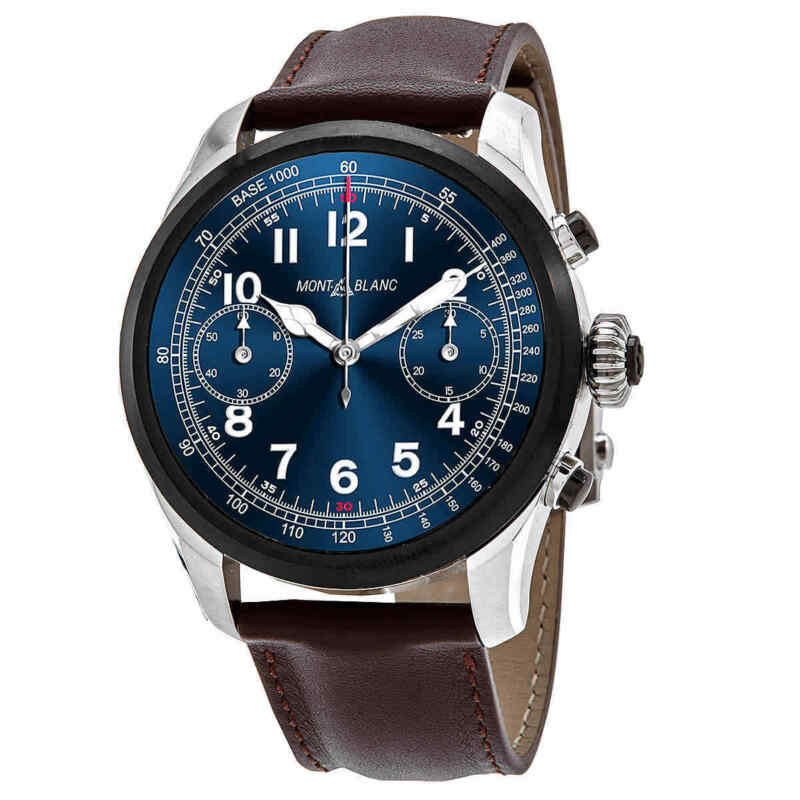 Montblanc-Summit-2-Chronograph-Blue-Dial-Unisex-Smart-Watch-119439