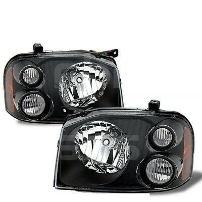 TIFFIN ALLEGRO BUS 2004 2005 2006 BLACK HEADLIGHTS HEAD LIGHTS LAMPS PAIR RV