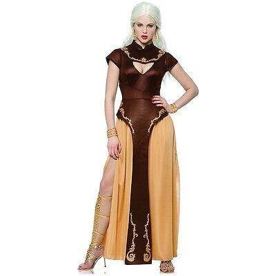 Daenerys Targaryen Costume Medieval Queen Game of Thrones Halloween Fancy Dress
