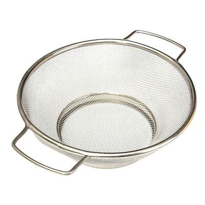 Stainless Steel Fine Mesh Strainer Colander Food Rice Vegetable Sifter Sieve YM
