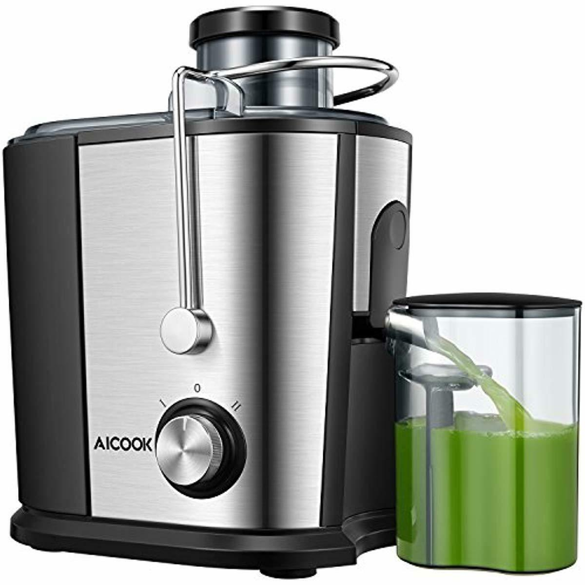 juicer juice extractor aicok wide mouth centrifugal