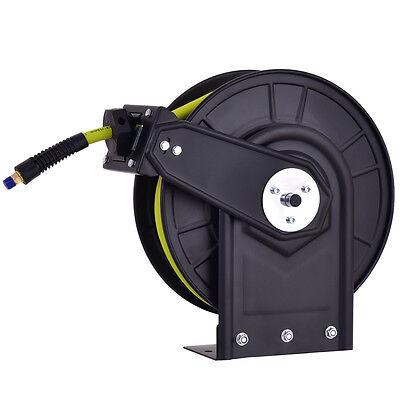 38 X 50 Retractable Air Compressor Hose Reel 300psi Auto Rewind New