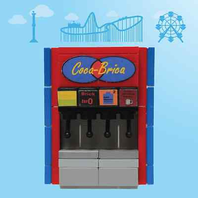 Soda Machine - by Bricktree Customs, original carnival-themed, custom LEGO® kit (Carnival Themes)