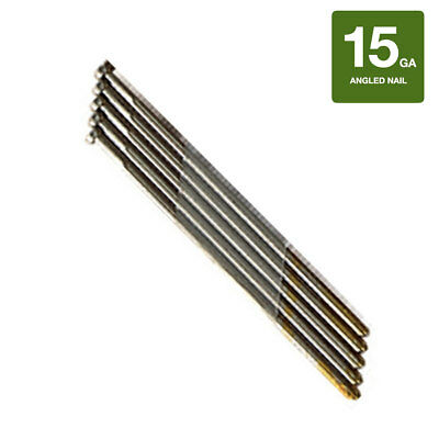 Collated Nails 15 Gauge Da Angled Finish Nails 304 Stainless Steel - 4000ct Box