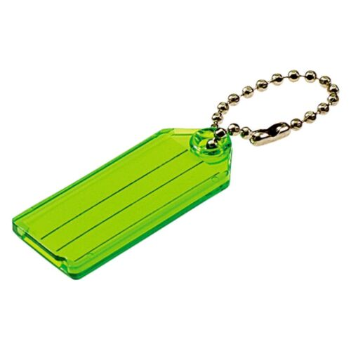 (2 Packs) Lucky Line I.D. Key Tag With Chain