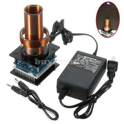 Music Tesla Coilpower Adapter Wireless Transmission Magic Prop Teaching Toy Tzt