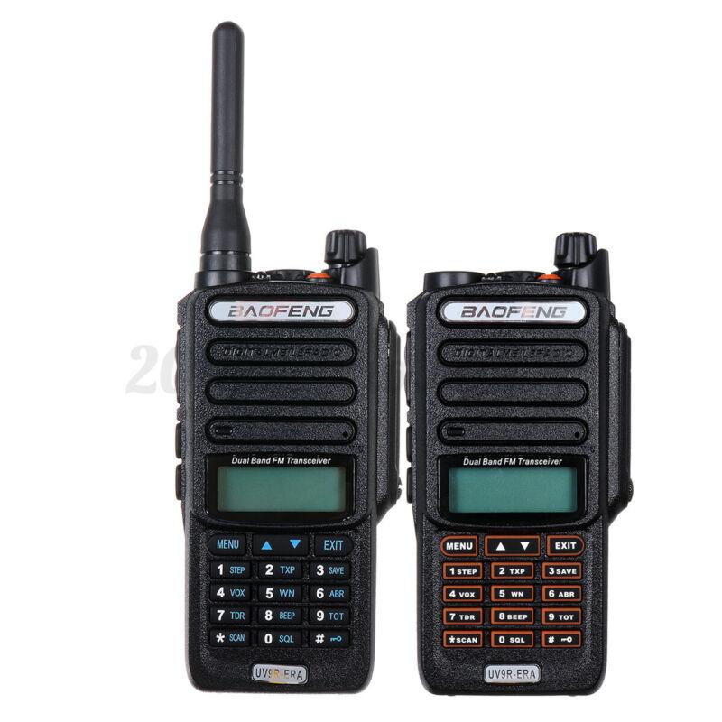 18W Baofeng UV-9R Plus Walkie Talkie VHF UHF Dual Band Handheld Two Way Radio US