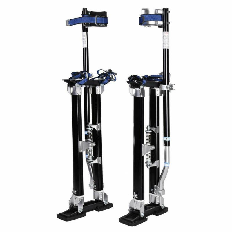 Black 24-40 Inch Drywall Stilts Aluminum Tool Stilt For Painting Painter Walk