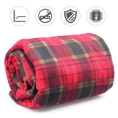 12V Electric Heating Blanket with Switch Thermostat Blanket - Ultra Soft & Warm