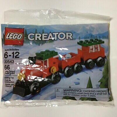 Christmas Train Lego Creator Polybag 30543 Retired Factory Sealed Poly Bag