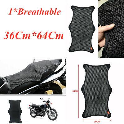 Waterproof Motorcycle Cushion Seat Cover Net Anti-slip Heat Insulation Sleeve x1