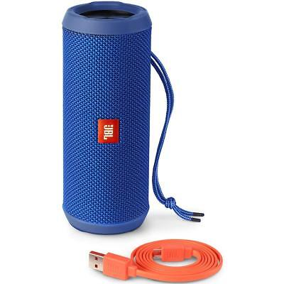JBL Flip 3 Splash Proof Portable Bluetooth Speaker, Blue