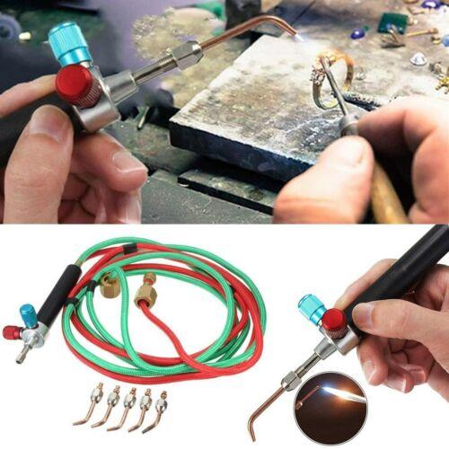 Welding Soldering Kit Hot Jewelry Jewelers Micro Mini Gas Little Torch 5 Tips US Home & Garden
