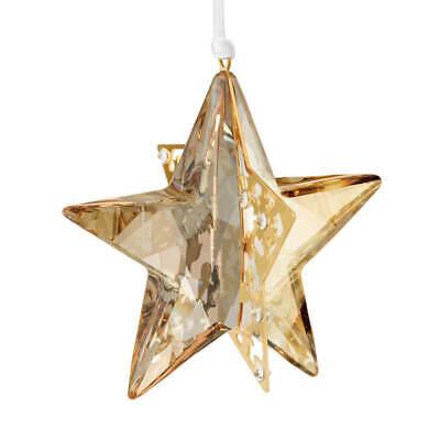 Swarovski Christmas Golden Shadow Crystal Star 1140008 Swarovski Christmas Star