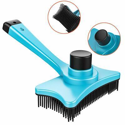 Pet Grooming Brush DeShedding Tool Comb Edge Trimming Dog Cat Fur Removal Rake