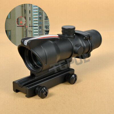 Enhanced Edition 4x32 BDC Scope Reticle Sight Clone With Real Red Optic Fiber
