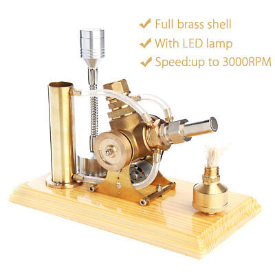 ☆ Hot Air Stirling Engine Model Power Generator Motor Educational Steam Toy - Toy Engine Kit