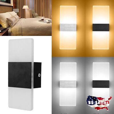 3W LED Wall Lamp Hall Porch Walkway Bedroom Livingroom Home Fixture Light USA