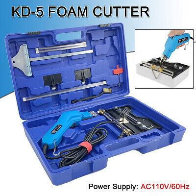 110v Electric Hot Foam Cutter Knife Grooving Wire Styrofoam Engraving Tool Kit