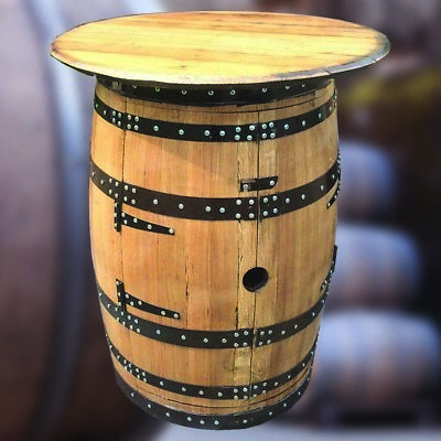 """Solid Oak Whisky Keg """"Brodie Balmoral"""" Wine Rack Drinks Cabinet Pub Table for sale  Shipping to Ireland"""