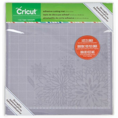 Cricut StrongGrip Adhesive Cutting Mat, 12 by 12 NEW 2003545