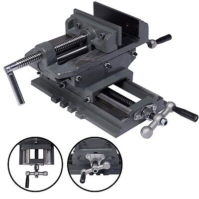 New 5 Cross Drill Press Vise X-y Clamp Machine Slide Metal Milling 2 Way Hd