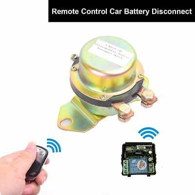 Truck Remote Control Power Switch Disconnect Anti-theft Master Kill System 24V