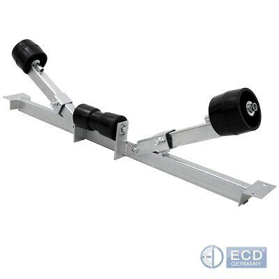 Kielrolle Trailerrolle Gummi 200 mm 17 mm Bohrung für Bootstrailer